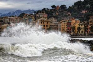 Mare mosso a Genova