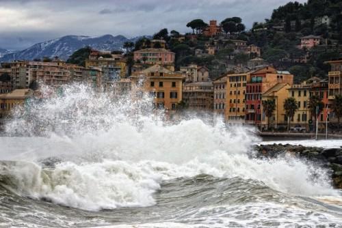 Genova - Mare mosso a Genova