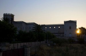 Alba sul castello di Donnafugata!!!