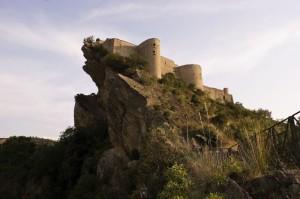Castello di Roccascalegna al Tramonto