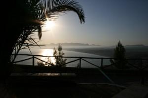 L'alba a San Vito lo Capo