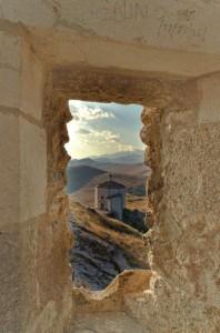 Panorama dalla Feritoia della Rocca  di Calascio