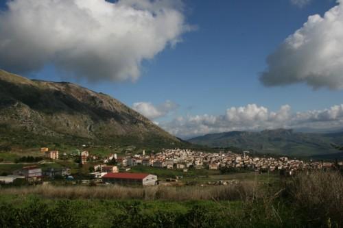 Ventimiglia di Sicilia - panorama del paese