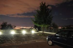 vista notturna dalla Rocca