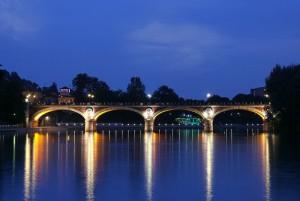 Torino-ponte Isabella sul Po