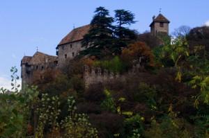 Il castello visto dalla strada