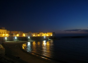 E' notte a Gallipoli