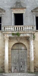 Particolare Palazzo Marchesale, residenza fortificata