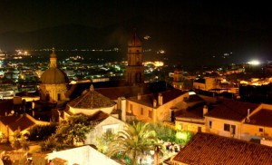 Città nella notte