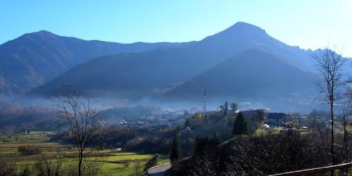 Seren del Grappa - Panorama autunnale
