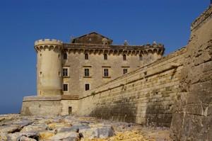 Un castello in riva al mare