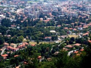 Panorama di Erba