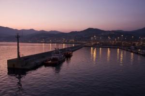 Il Genova dal mare