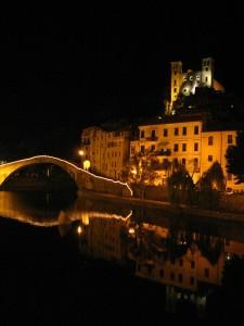 Il Castello Doria di notte