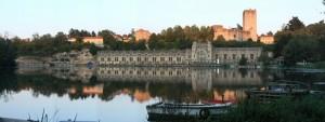 L'Adda, la centrale Taccani e il castello di Trezzo