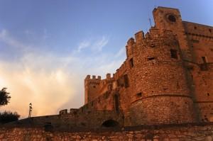 Castello Orsini - Luci all'ingresso