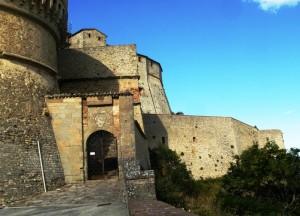 L'ingresso della rocca