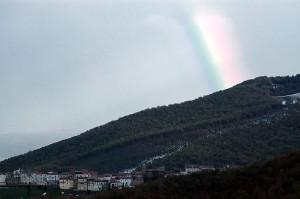 Arcobaleno su Celle di San Vito