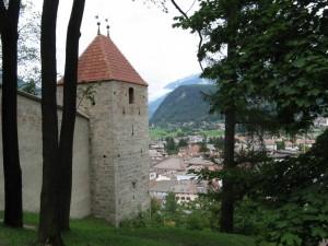 Brunico vista dal castello