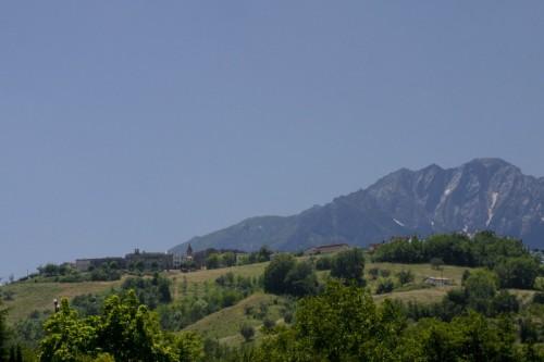 Castel Castagna - Campanile e Gran Sasso