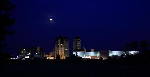 Vimercate - Le Twin Towers di Vimercate dominano il panorama della Brianza