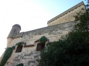 Particolare Bastione Castello Castriota