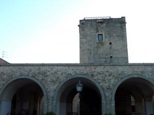Particolare della Torre del Castello Cinquecentesco