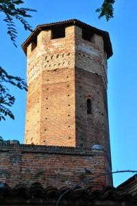 Torre del castello di Sommariva del Bosco