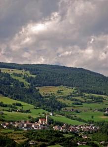 il paese sulla montagna