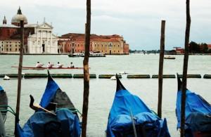 Guardando l'isola di S. Giorgio Maggiore