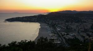 sunset to Serapo