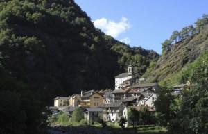 La località Ferrera, Cravagliana, Val Mastallone, Val Sesia, Piemonte