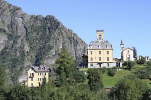 Il castello di Cervatto, Val Mastallone, Val Sesia, Piemonte