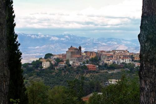 Monte Porzio Catone - veduta di Monte Porzio Catone