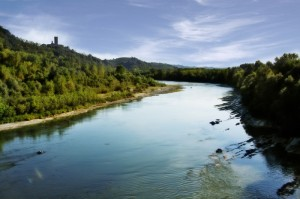 fiume Tanaro a Neive (CN)