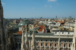 I tetti di Milano