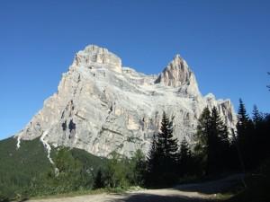 el caregon de Dio; il Monte Pelmo