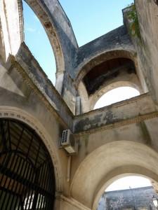 Particolare della Loggia e del Porticato del Castello Brancaccio