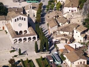 Rocca Porena dalla rocca