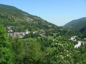Il torrente Varajta a Casteldelfino