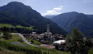 Localita Prade e la Valle del Vanoi