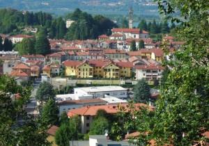 Panorama di Oggiono