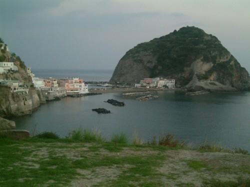 Ischia - veduta di sant'Angelo