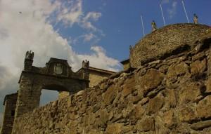 castello di compiano ingresso