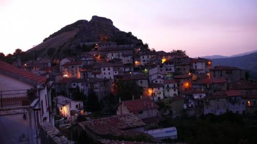 Tagliacozzo - Tremonti al tramonto