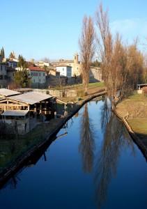 Bevagna e il fiume Timia