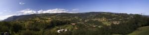 Veduta da sopra Breganze.