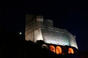 Castello di Lerici, La Spezia, Liguria [Notturno]