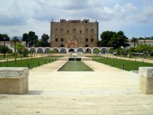 il parco del castello alla zisa