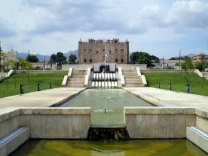 l'immenso parco del castello alla zisa